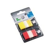 inFO Page Flags - Assorted Colour Tip - 25 x 43mm