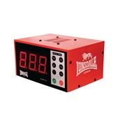 Lonsdale Electronic Gym Timer - Red