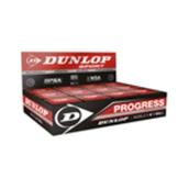Dunlop Progress Squash Ball - Black - Pack of 12