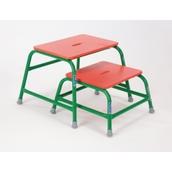 Niels Larsen ActivStool - Red/Green - Small (300mm)