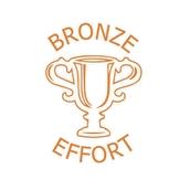 Xclamations Stamp - Bronze Effort