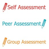 Xstamper 3 in 1 Stamp - Self, Peer and Group Assessment