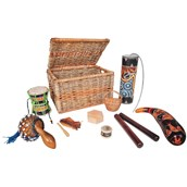 Small Multicultural Instrument Basket