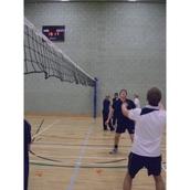 Universal Sports Net Wall Slider - Blue