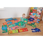 Alphabet Jigsaw Floor Puzzle from Hope Education