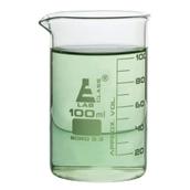 Economy Glass Beaker, Tall Form: 100ml - Pack of 12