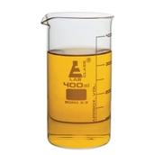 Economy Glass Beaker, Tall Form: 400ml - Pack of 6