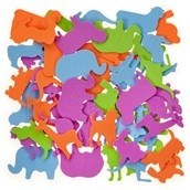 Classmates Foam Jungle Animals - Pack of 50