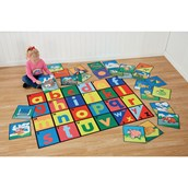 Alphabet Mat and Tiles Special Offer Pack of 2