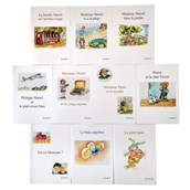 Reading Books In French - Pack of 10
