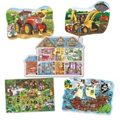 Orchard Toys Shaped Floor Puzzles - Pack of 5