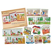 What's the Story Sequencing Cards - Pack of 30