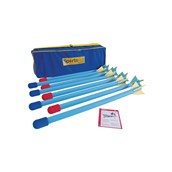 Eveque Long Bull Nosed Javelin - 120cm - Pack of 8