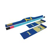Eveque Highland Games Foam Caber Pack - Blue/Yellow