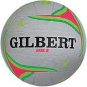 Gilbert APT Training Netball - Fluorescent - Size 4