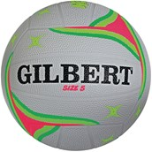 Gilbert APT Training Netball - Fluorescent - Size 5