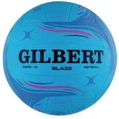 Gilbert Blaze Match Netball - Blue - Size 5