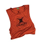 Gilbert Rugby Bib - Red - Youth