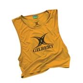 Gilbert Rugby Bib - Yellow - Adult