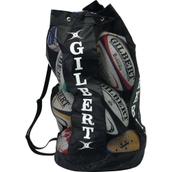 Gilbert Breathable 12 Ball Bag - Black