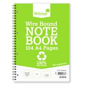 Silvine Recycled Notebooks - A4 - Pack of 12