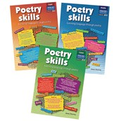 Poetry Skills Resource Books Multibuy Offer - Pack of 3