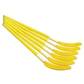 Eurohoc Floorball Hockey Stick - Yellow - Junior