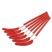 Eurohoc Floorball Hockey Stick - Red - Junior