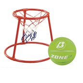 Floor Basketball Set - Red/Green - Size 3