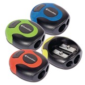 Soft Grip Double Hole Sharpener  - Pack of 36