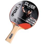 Fox Silver 2 Star Table Tennis Bat - Red