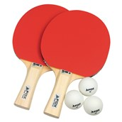 Fox Silver 2 Star Table Tennis Set - Red/White