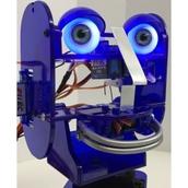 Illuminating Eyes for Ohbot