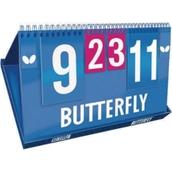 Butterfly Table Tennis League Scorer - Blue