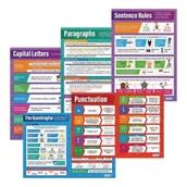Grammar Rules Poster Set - Pack of 5