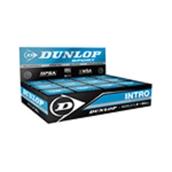 Dunlop Intro Squash Ball - Black - Pack of 12