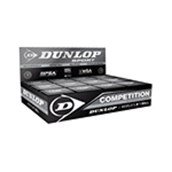Dunlop Competition Ball - Black - Pack of 12