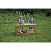 Outdoor Messy Play Bench