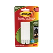 Command Picture Hanging Strips White Large  - Pack of 4