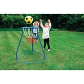 Basketball Stand - Blue/Red/White