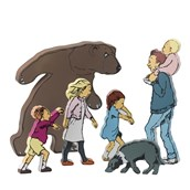 We're Going On A Bear Hunt Character Set - Pack of 6