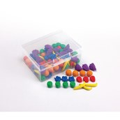 Fruit Counters - Pack of 108