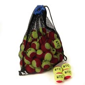 Zsig SLOcoach Big Tennis Ball - Red Stage - Pack of 48