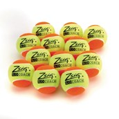 Zsig SLOcoach Mini Tennis Ball - Orange Stage - Pack of 12