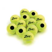 Zsig Black Dot Tennis Ball - Yellow - Pack of 12