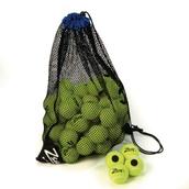 Zsig Black Dot Tennis Ball - Yellow - Pack of 48