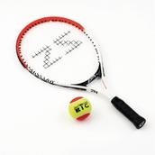 Zsig Tennis Racket - Red - 21in