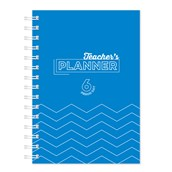 A5 Teacher Planner Blue