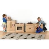 Under 2s Wooden Kitchen Set