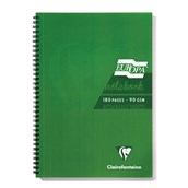 Clairefontaine Europa Notebooks - Green - A4 - Pack of 5
